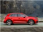 Audi SQ5 3.0 TFSI 2018 вид сбоку