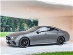 Mercedes-Benz CLS-Class - Mercedes-Benz CLS 2019 вид сбоку спереди