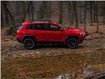 Jeep Cherokee 2019 вид сбоку