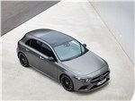 Mercedes-Benz A-Class 2019 вид спереди сверху