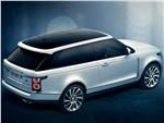 Land Rover Range Rover SV Coupe 2019 вид сзади