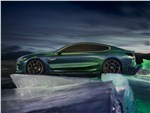 BMW M8 Gran Coupe - BMW M8 Gran Coupe Concept 2018 вид сбоку
