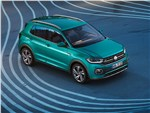 Volkswagen T-Cross - Volkswagen T-Cross 2019 вид спереди сверху