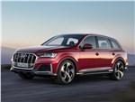 Audi Q7 - Audi Q7 2020 вид спереди сбоку