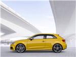 Audi S3 - Audi S3 2017 вид сбоку