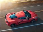 Chevrolet Corvette - Chevrolet Corvette C8 Stingray 2020 вид сверху