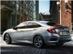 Honda Civic - Honda Civic Sedan 2019 вид сзади
