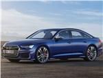 Audi S6 - Audi S6 Sedan TDI 2020 вид сбоку