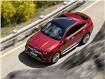 Mercedes-Benz GLE Coupe - Mercedes-Benz GLE Coupe 2020 вид сверху