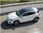 Mercedes-Benz GLA45 AMG 2018 вид сверху