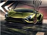Lamborghini Sian - Lamborghini Sian 2020 вид спереди