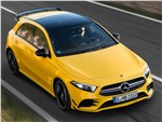 Mercedes-Benz A-Class AMG - Mercedes-Benz A35 AMG 4Matic 2019 вид спереди сверху