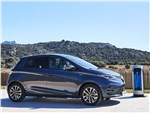 Renault Zoe 2020 вид сбоку