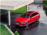 Audi RS4 - Audi RS4 Avant 2020 вид спереди сверху