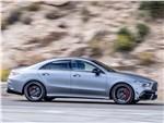 Mercedes-Benz CLA AMG 2020 вид сбоку