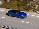 Jaguar F-Type - Jaguar F-Type 2021 вид сбоку сверху
