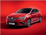 Renault Megane 2020 вид спереди