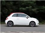 Fiat 500 2016 вид сбоку
