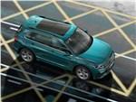 Volkswagen Tiguan (2021) вид сверху