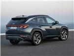 Hyundai Tucson (2021) вид сзади
