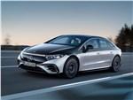 Mercedes-Benz EQS - Mercedes-Benz EQS (2022) вид спереди сбоку