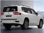 Toyota Land Cruiser - Toyota Land Cruiser (2022) вид сзади