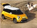 Fiat 500L Trekking 2014 вид спереди