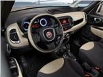 Fiat 500L Trekking 2014 водительское место