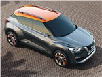 Nissan Kicks concept 2014 вид спереди сверху
