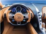 Bugatti Chiron - Bugatti Chiron 2017 водительское место