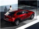 Mazda CX-30 2020 вид сзади сверху