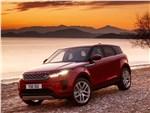 Land Rover Range Rover Evoque - Land Rover Range Rover Evoque 2020 вид спереди сбоку