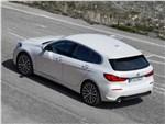 BMW 1-Series 2020 вид сверху