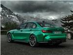 BMW M3 Sedan (2021) вид сзади