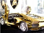 Lamborghini Aventador LP 700-4 из чистого золота