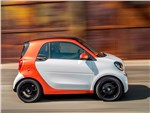Smart Fortwo Coupe - Smart Fortwo 2015 вид сбоку
