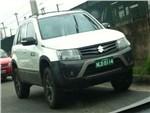 Suzuki тестирует новую версию Grand Vitara с увеличенным клиренсом