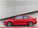 Hyundai Elantra Coupe 2013 вид сбоку