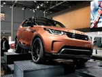 Land Rover Discovery - Land Rover Discovery 2017 вид спереди
