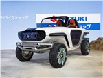 Suzuki e-Survivor concept 2017 вид спереди