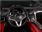Acura NSX - Acura NSX 2015 водительское место