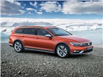 Volkswagen Passat Alltrack - Volkswagen Passat Alltrack 2016 вид спереди сбоку