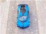Bugatti Chiron Pur Sport (2021) вид сверху