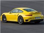 Porsche 911 Turbo 2013 вид сзади 3/4