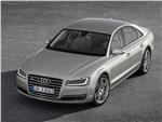 Audi A8 2014 вид сверху