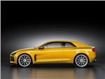Audi Sport quattro Concept 2013 вид сбоку