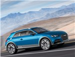 Audi Allroad Shooting Brake Concept 2014 вид сбоку