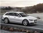 Audi A6 allroad quattro 2013 вид сбоку
