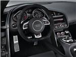 Audi R8 2013 водительское место