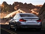 BMW 4-Series 2013 вид сзади